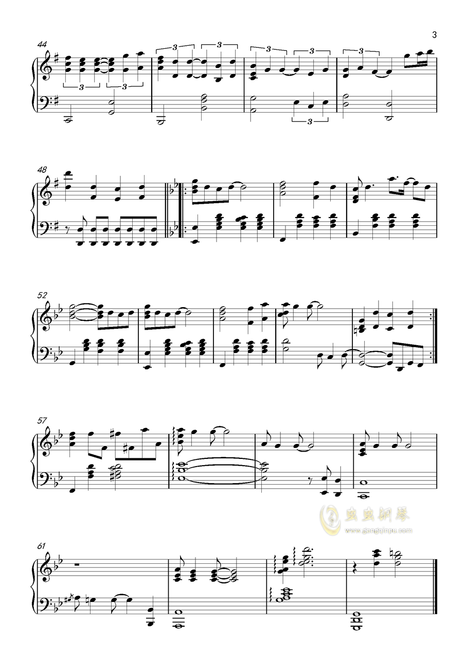 AMETHYST钢琴谱 第3页