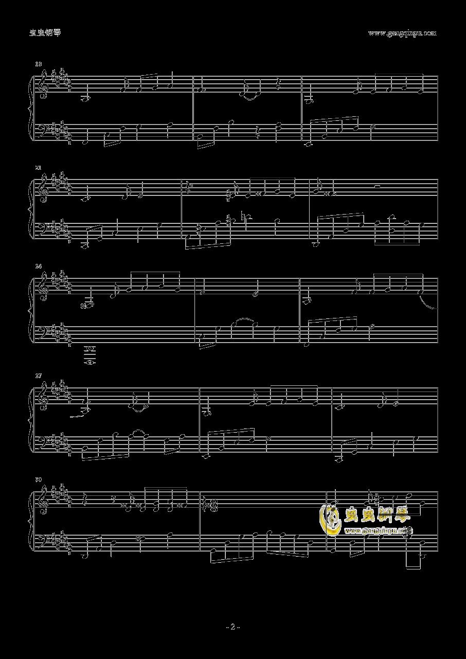 车站钢琴谱 第2页