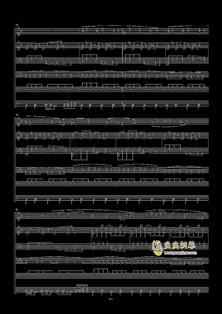 五月天-星空钢琴谱 第2页