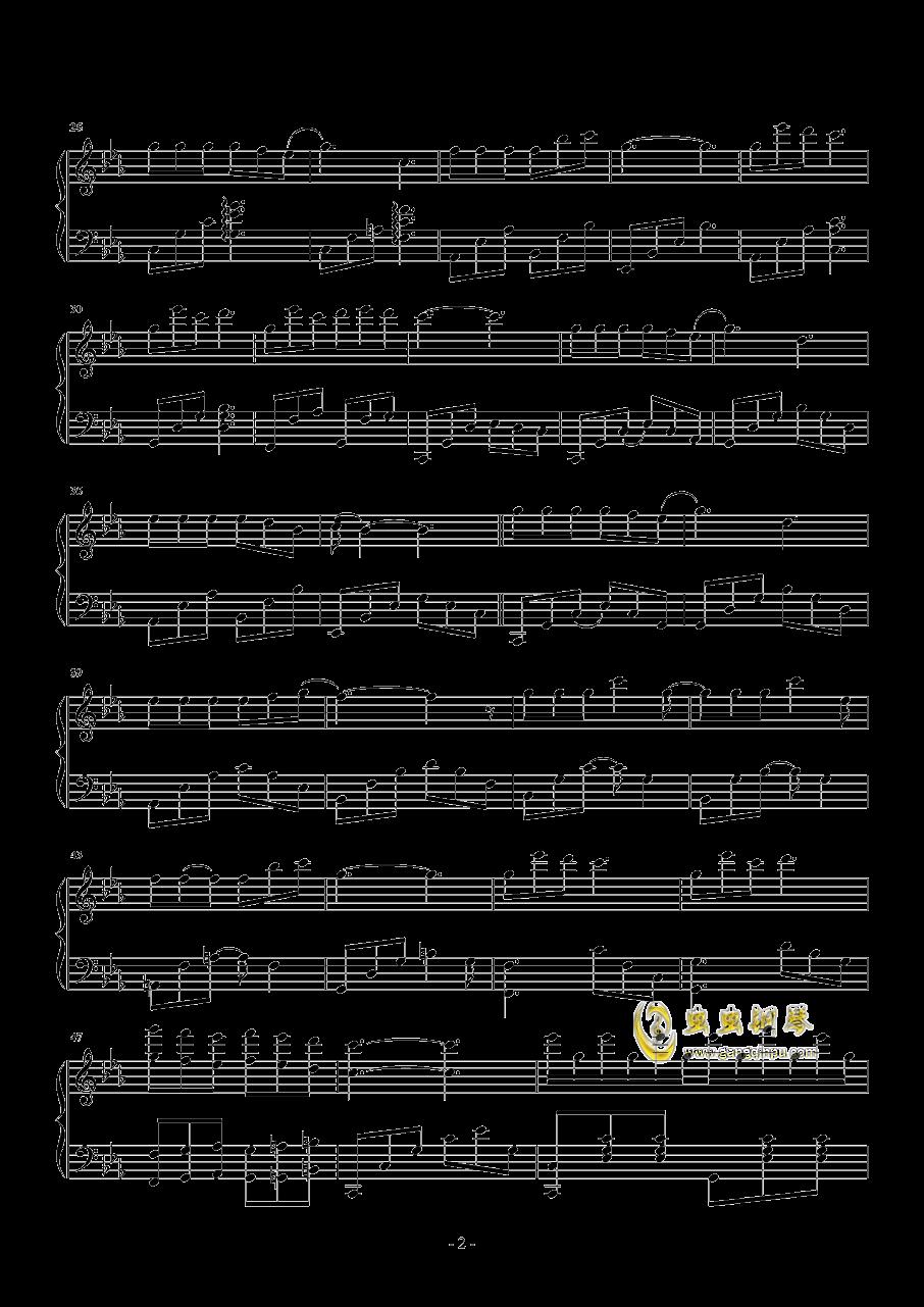 三生三世钢琴谱 第2页