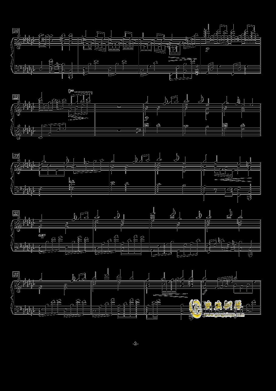 Marigold钢琴谱 第2页