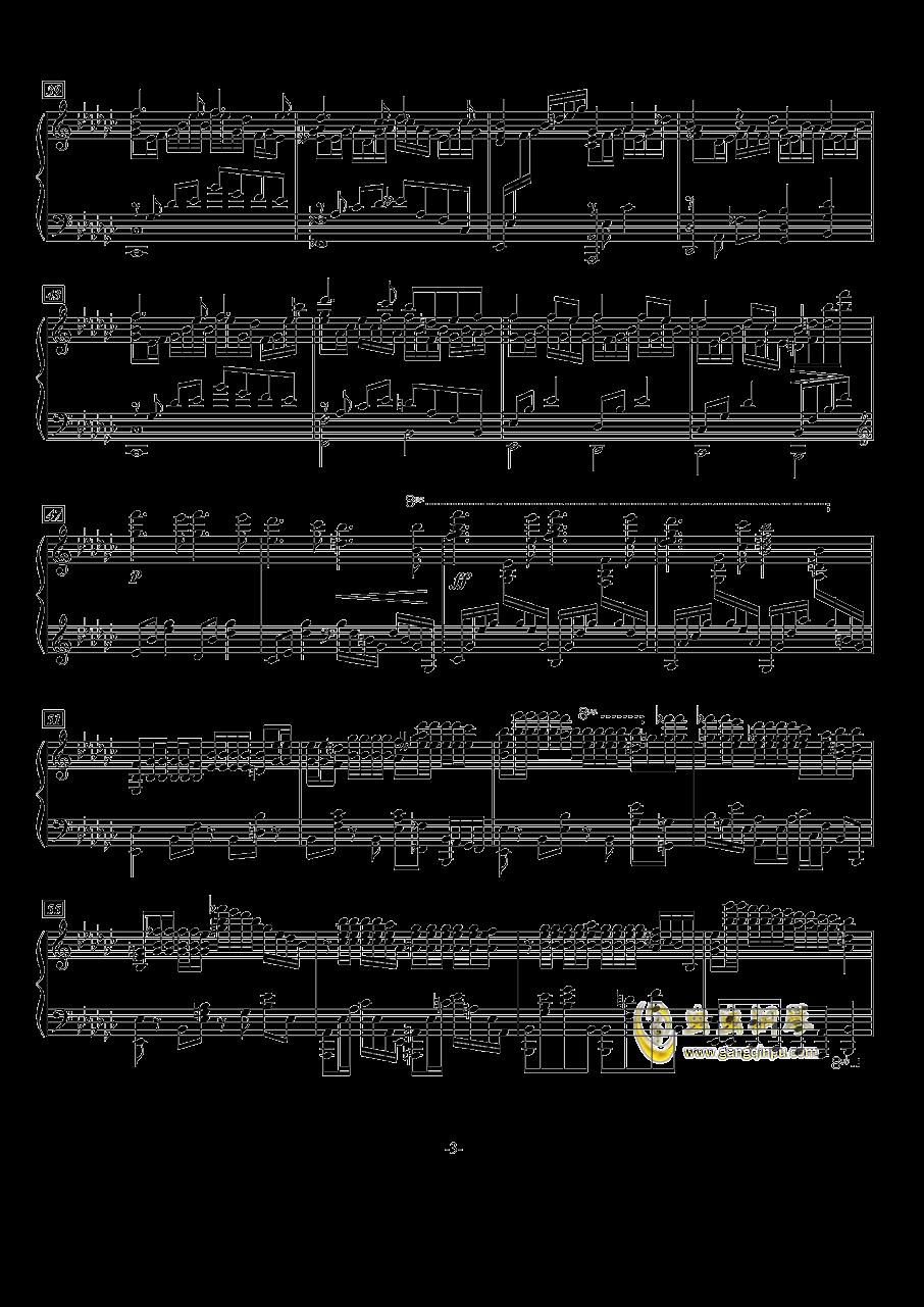 Marigold钢琴谱 第3页