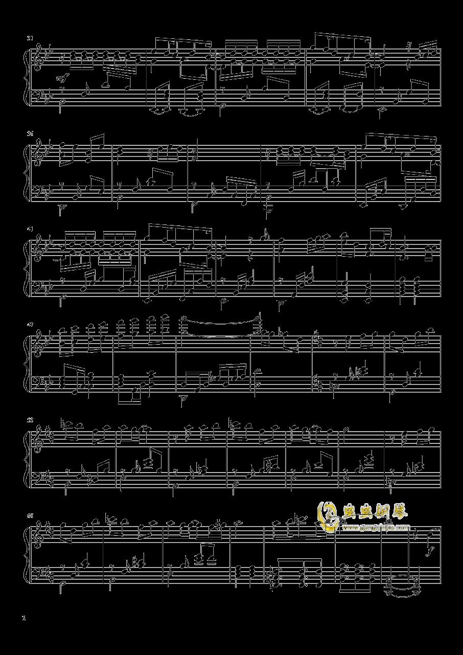 前へススメ!钢琴谱 第2页