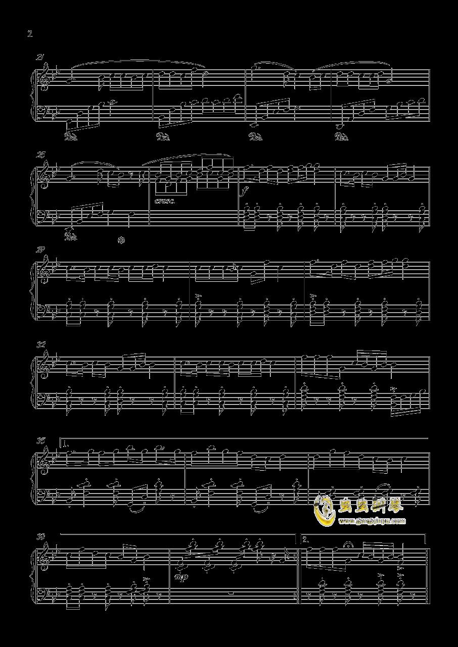 大笑江湖钢琴谱 第2页
