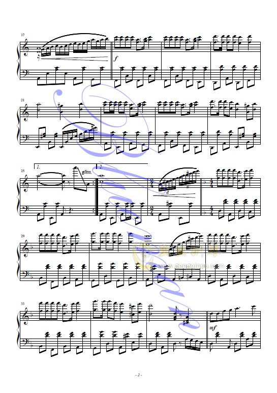 歌声与微笑钢琴谱 第2页
