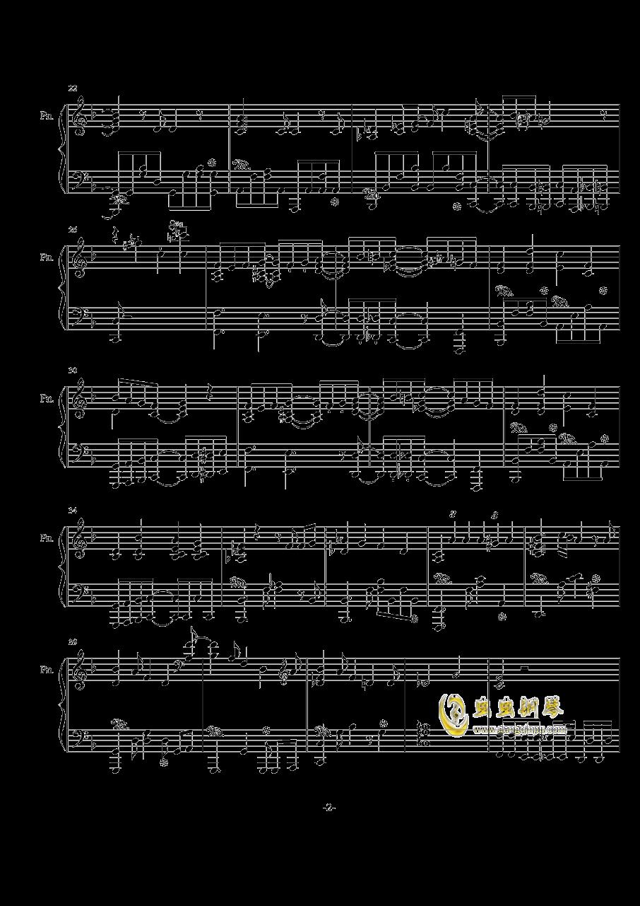 【兽娘动物园】ようこそジャパリパ�`クへ钢琴谱 第2页