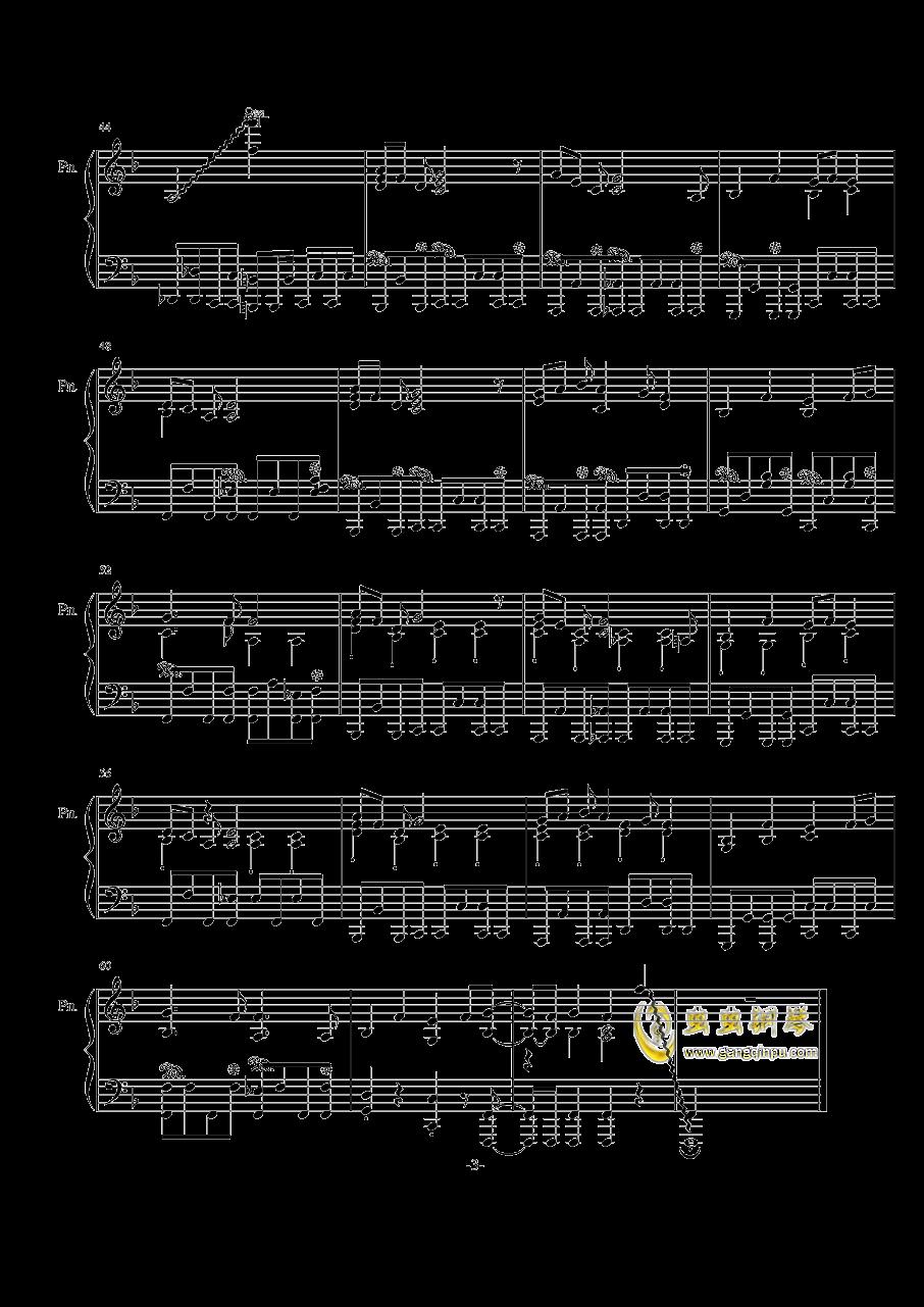 【兽娘动物园】ようこそジャパリパ�`クへ钢琴谱 第3页