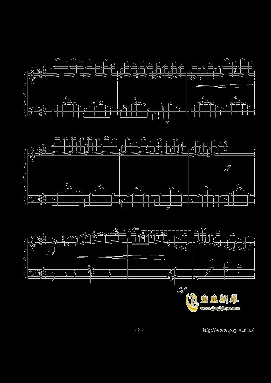 幻想即兴曲钢琴谱 第2页