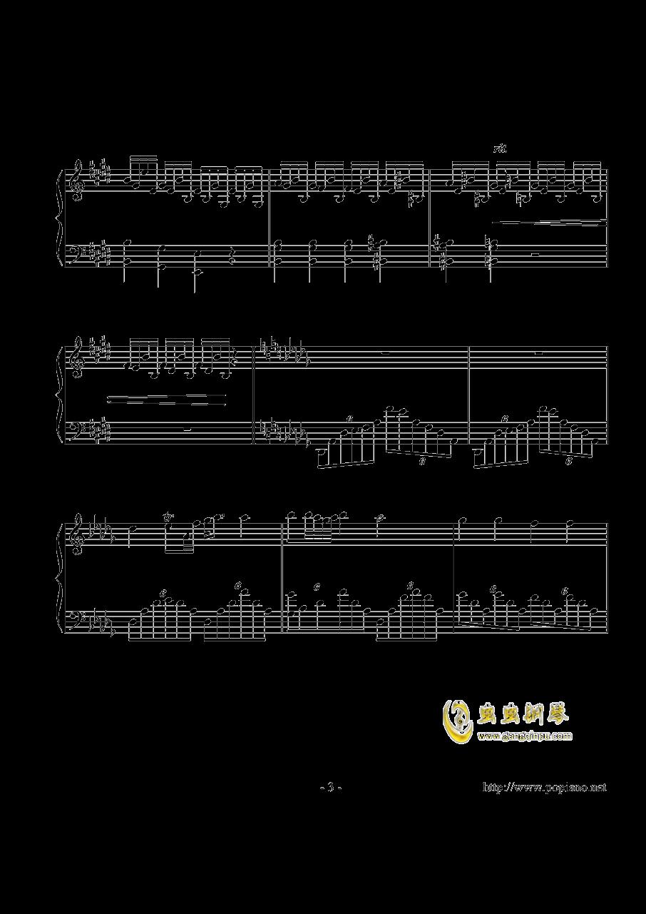 幻想即兴曲钢琴谱 第3页