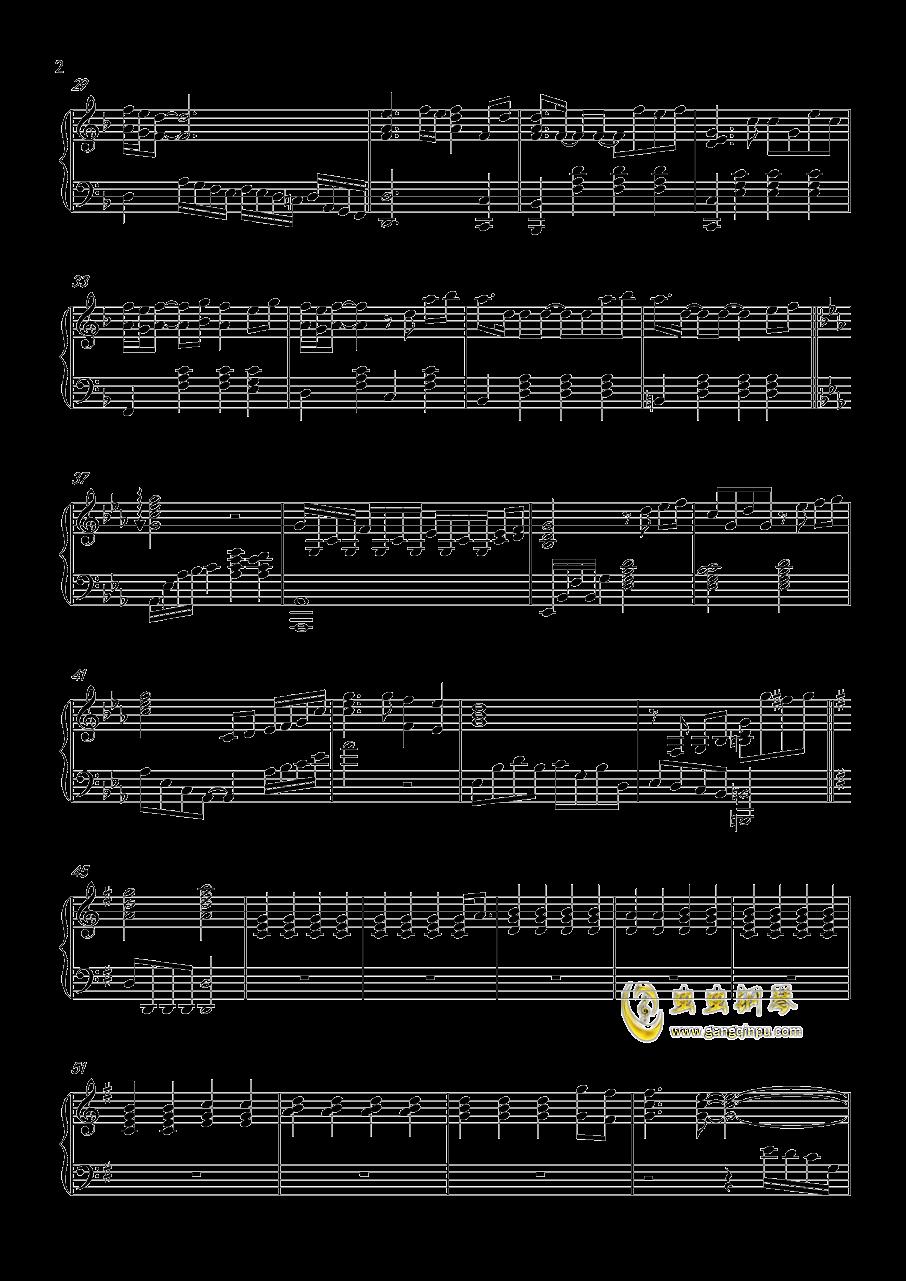 The Last Song钢琴谱 第2页