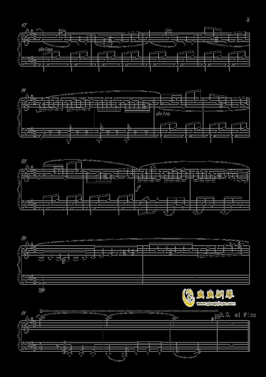回旋曲 Op.36 No.6钢琴谱 第3页