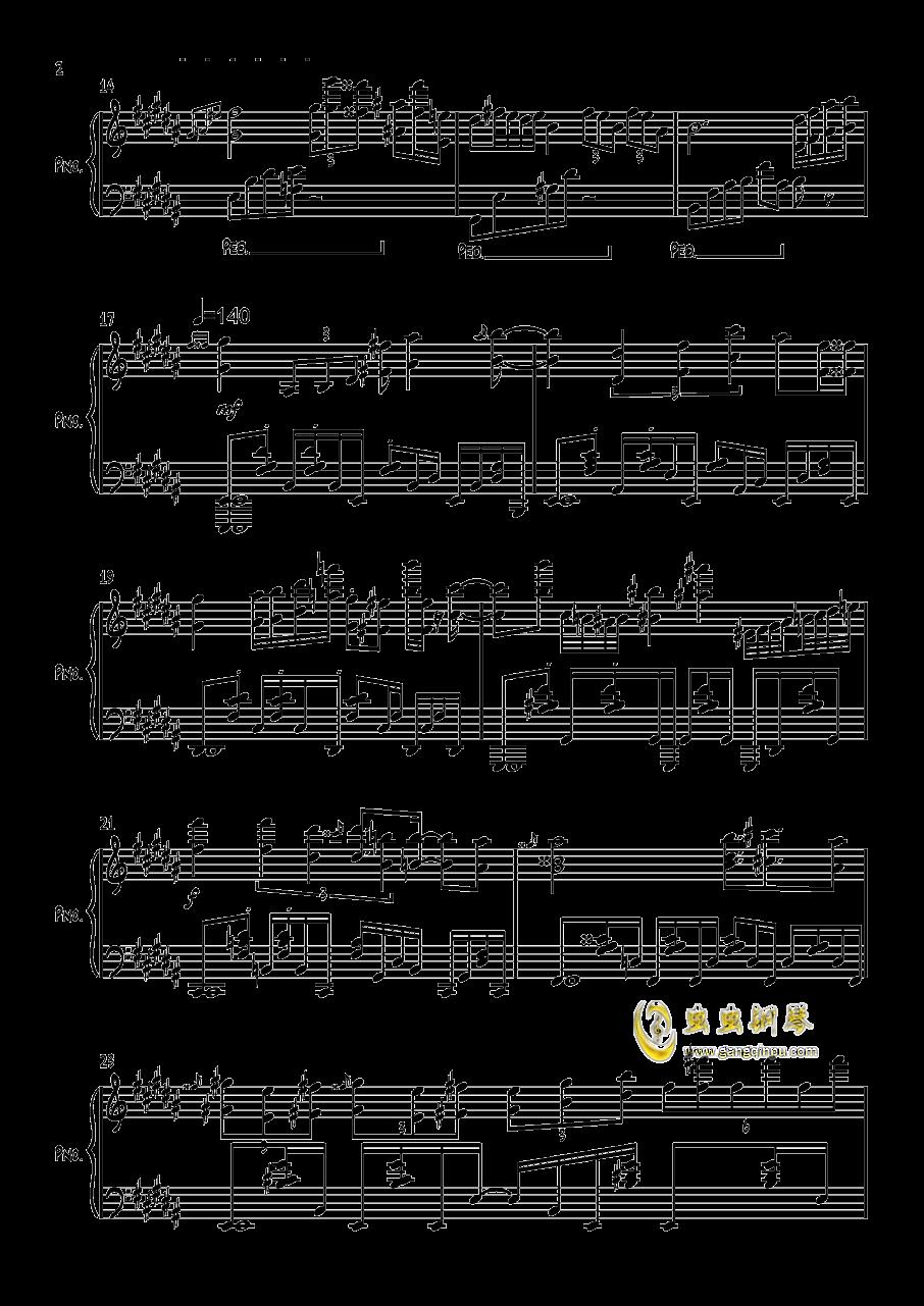 雕虫小鸡钢琴谱 第2页