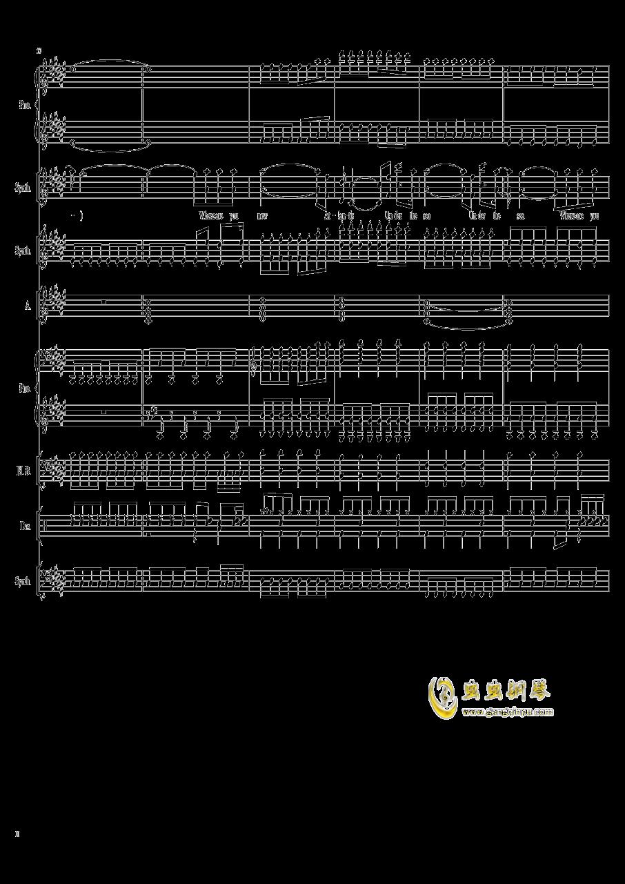 faded,faded钢琴谱,faded钢琴谱网,faded钢琴谱大全,虫虫钢琴谱下