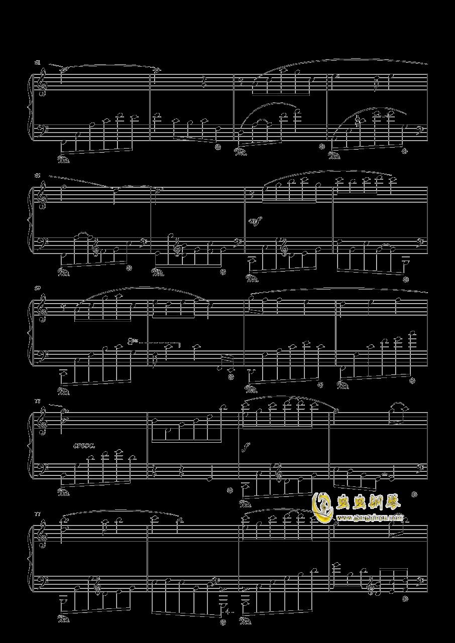 路钢琴谱 第4页