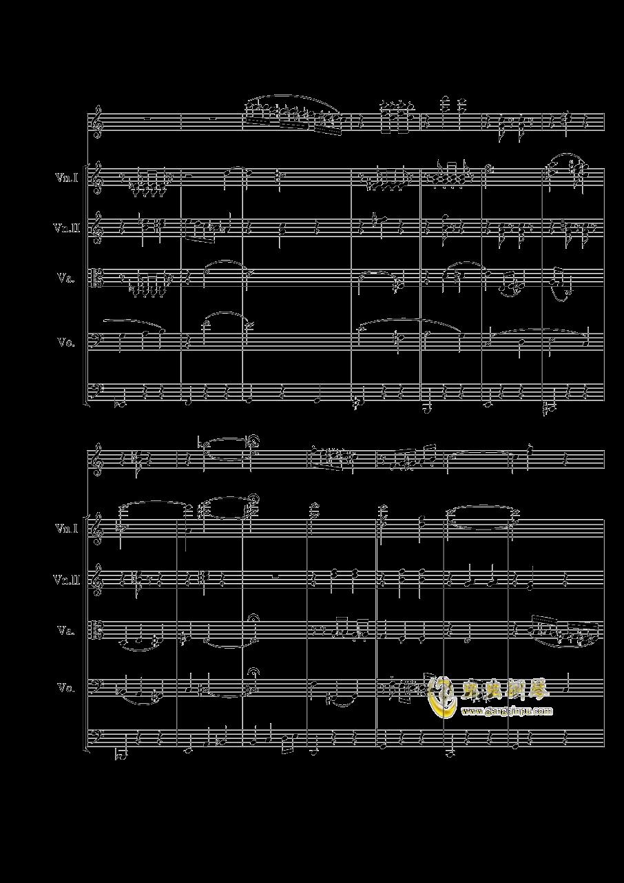 WALTZ钢琴谱 第4页