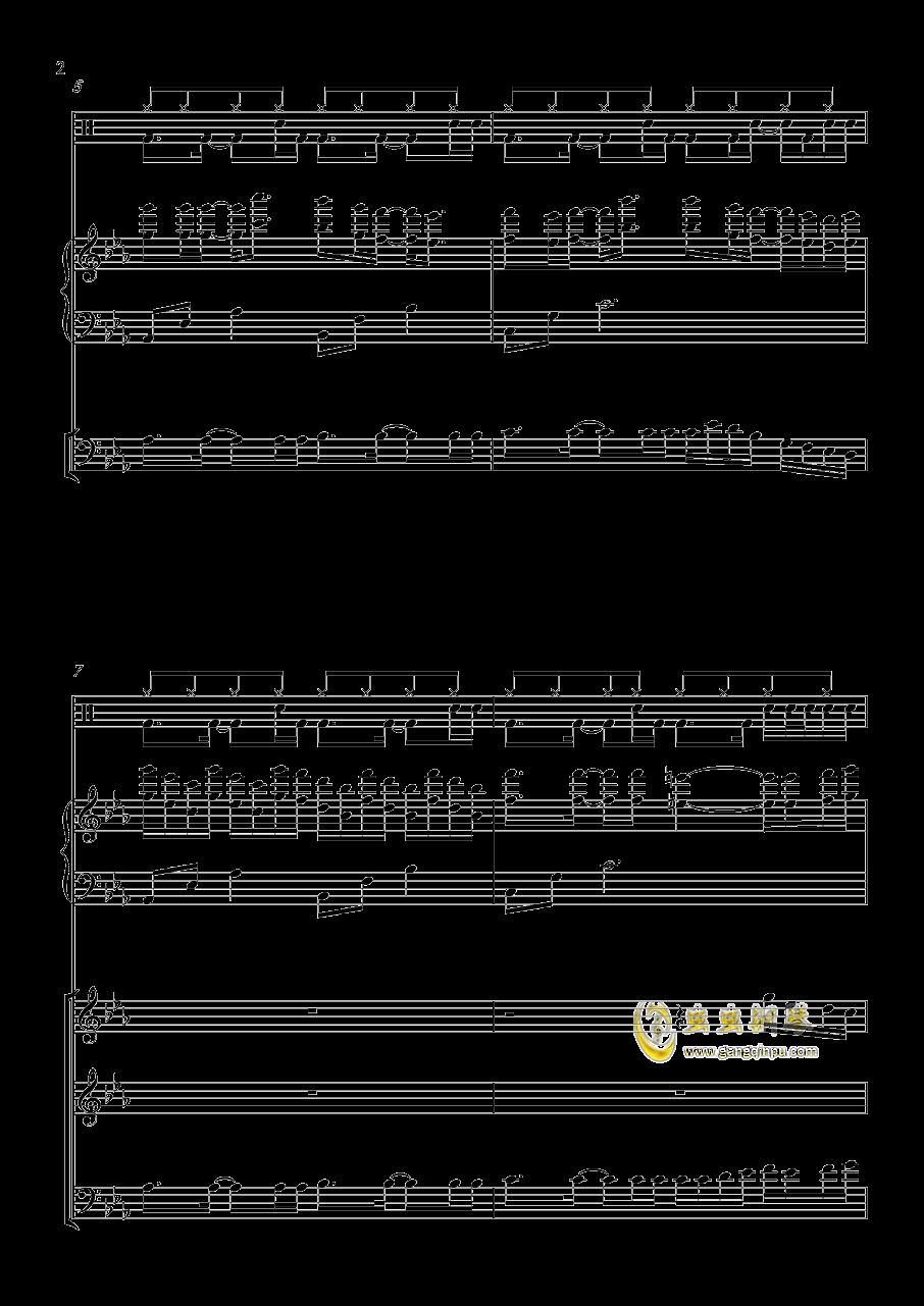 小游戏钢琴谱 第2页