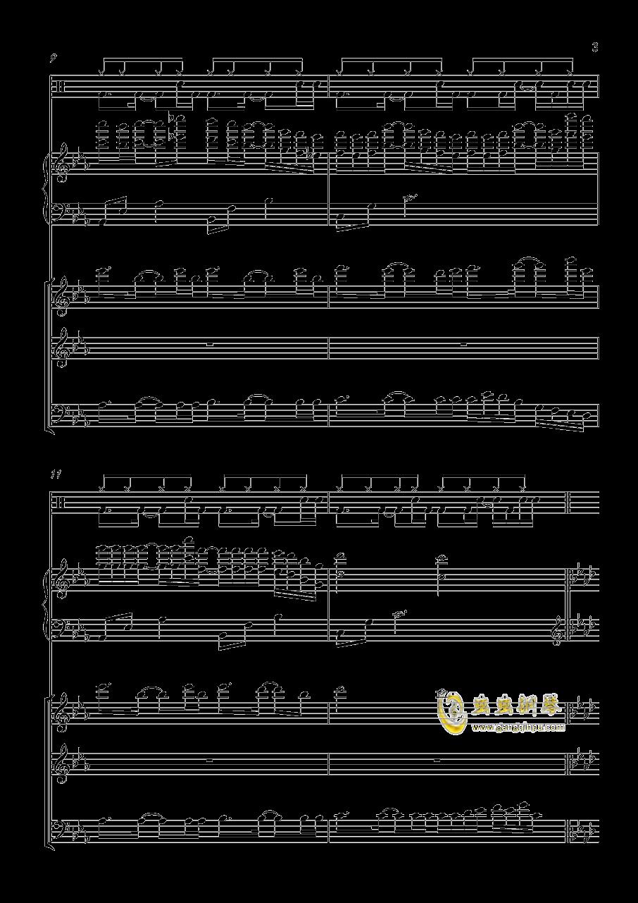 小游戏钢琴谱 第3页