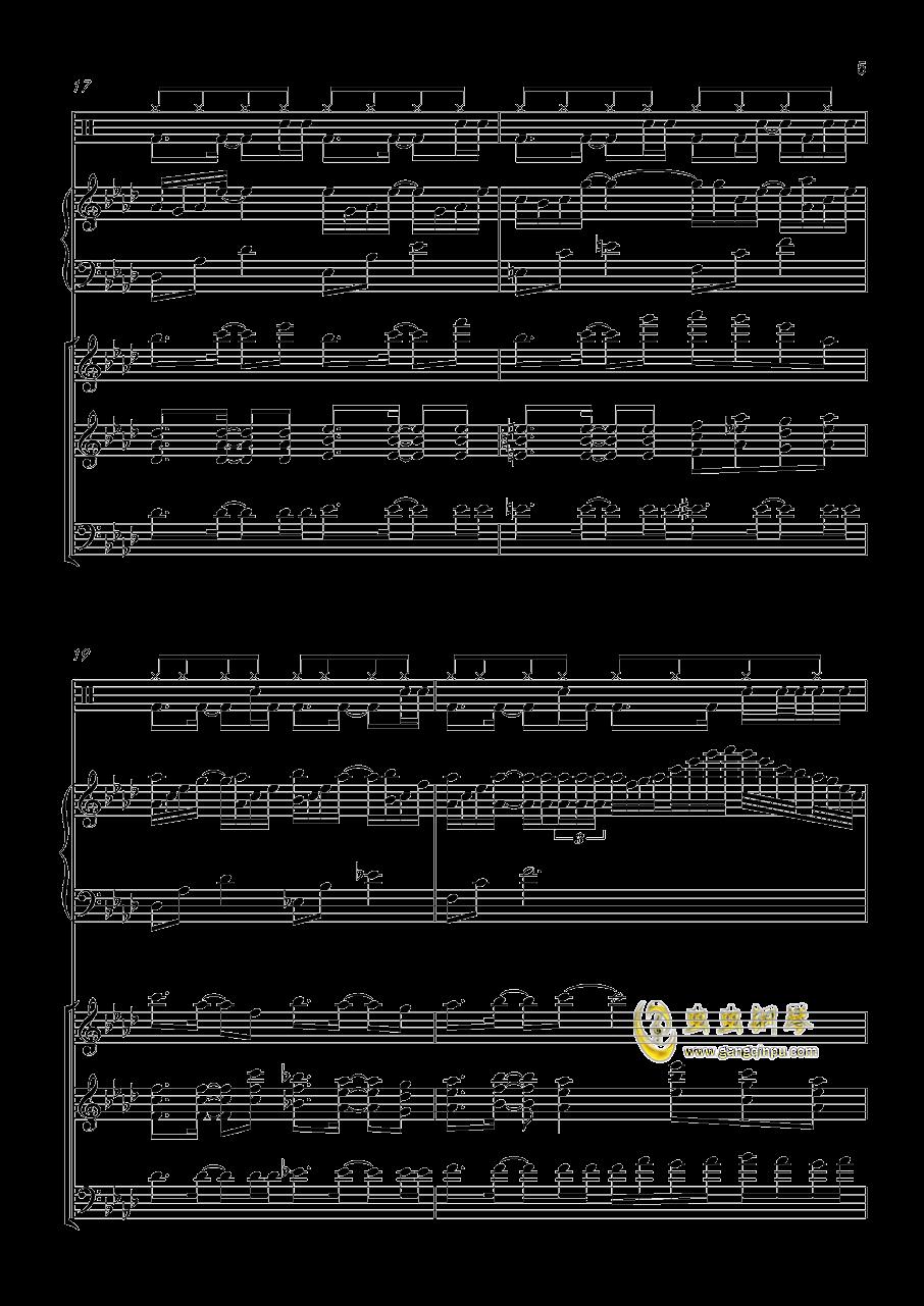 小游戏钢琴谱 第5页