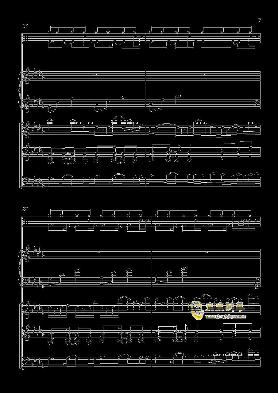 小游戏钢琴谱 第7页