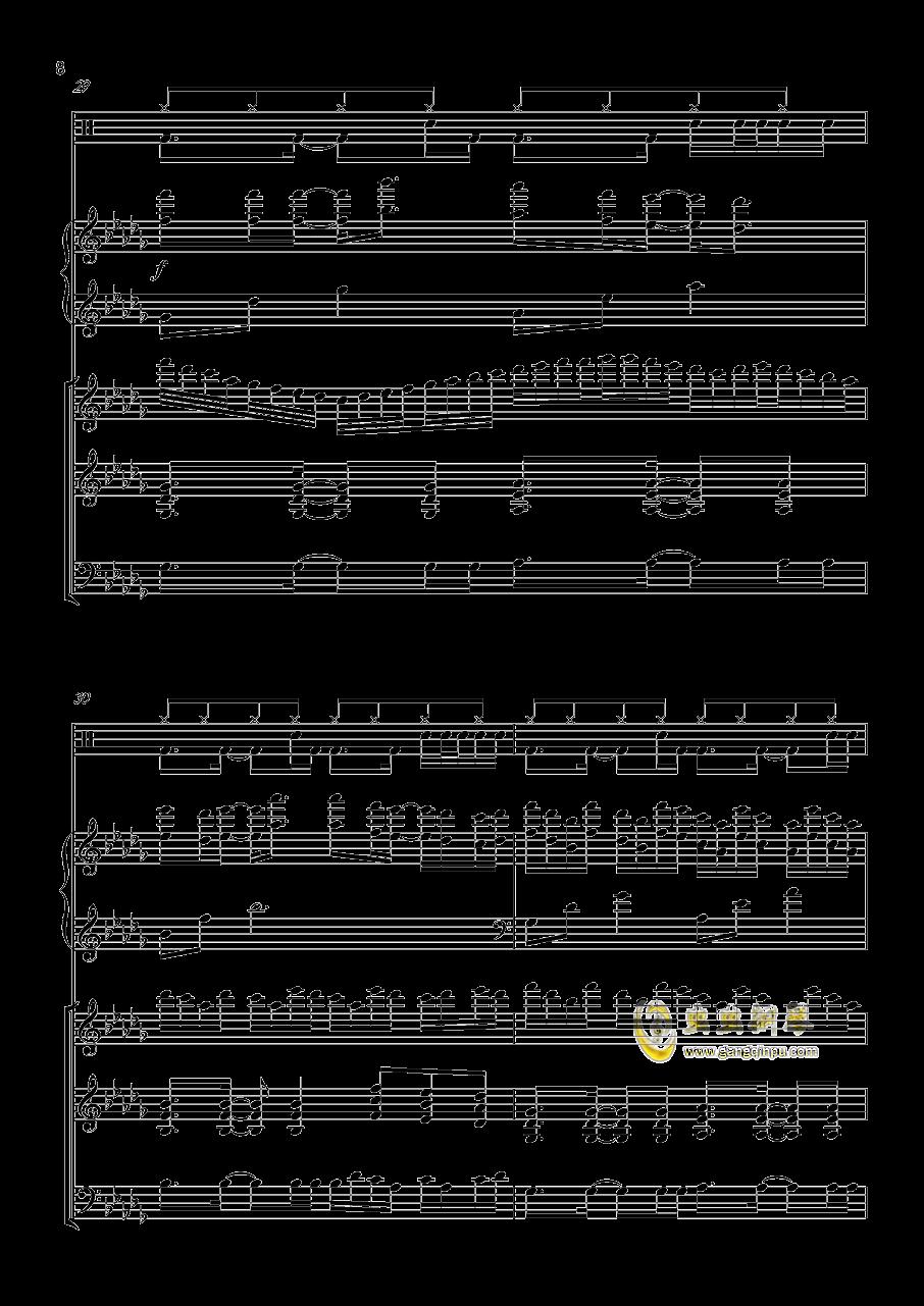 小游戏钢琴谱 第8页