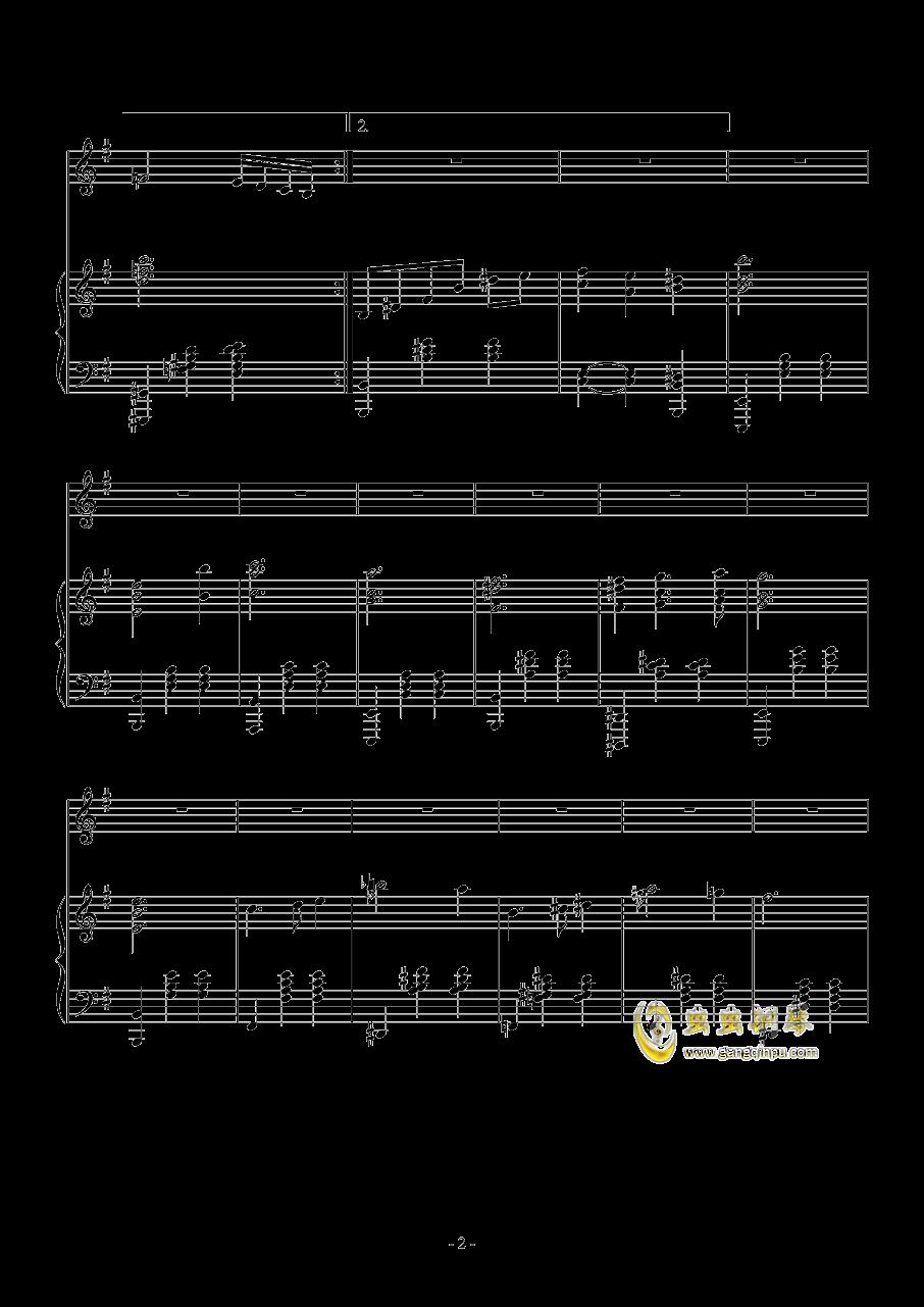 Fantasia Waltz钢琴谱 第2页
