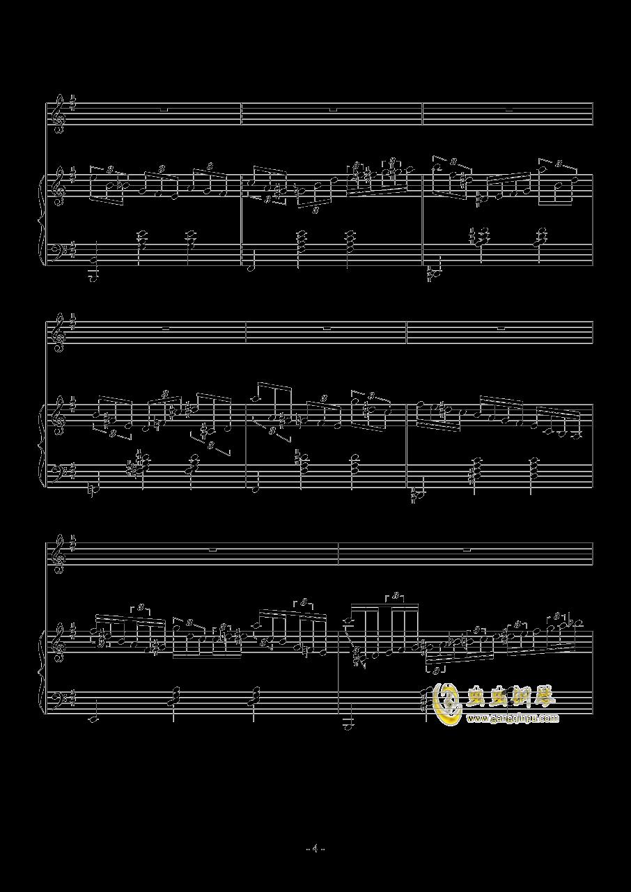 Fantasia Waltz钢琴谱 第4页