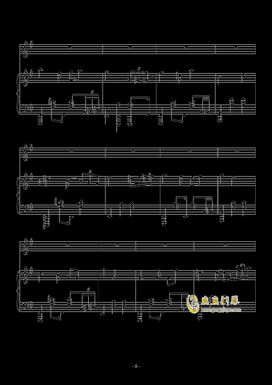 Fantasia Waltz钢琴谱 第6页