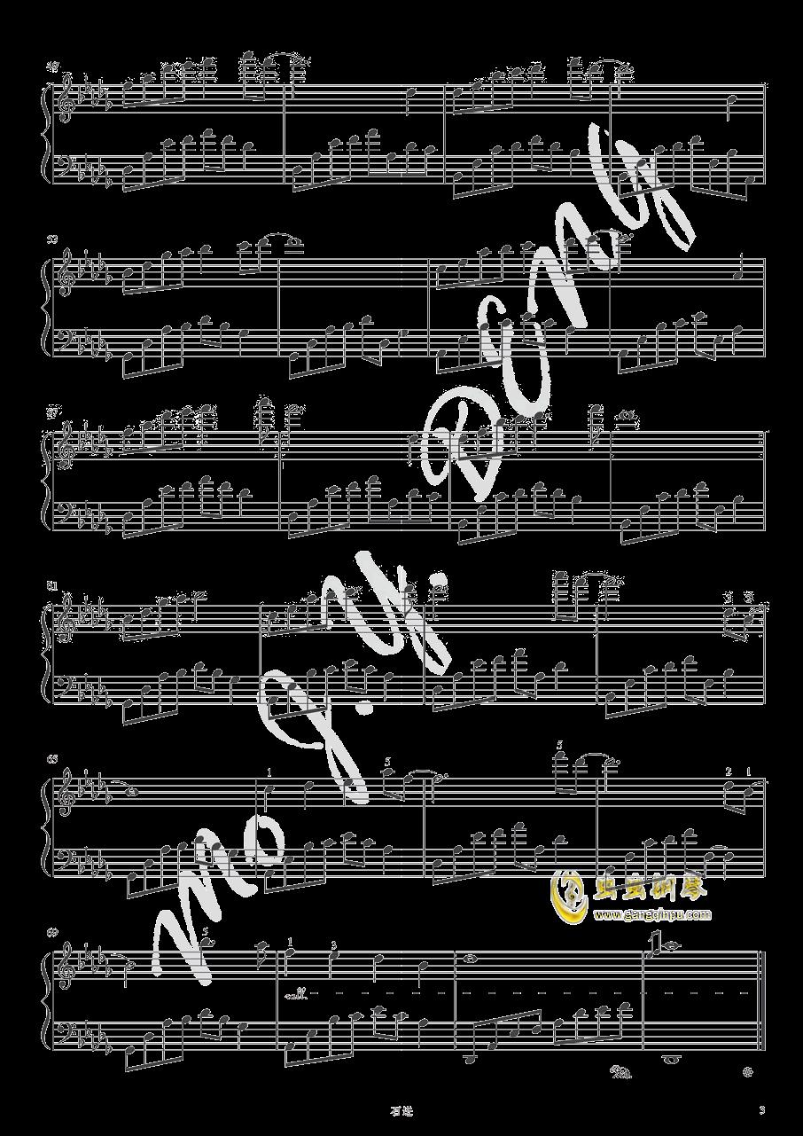夜的钢琴曲十三钢琴谱 第3页