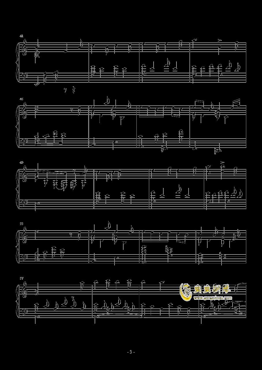 hana钢琴谱 第3页