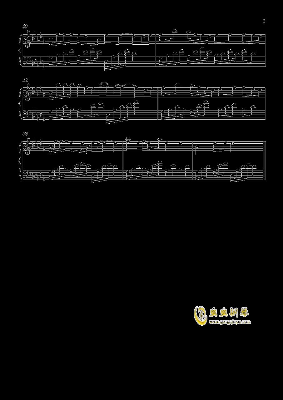 董贞繁花 钢琴简谱