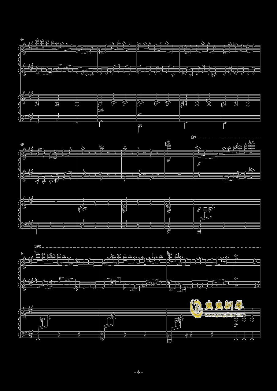 Toys Etude钢琴谱 第4页