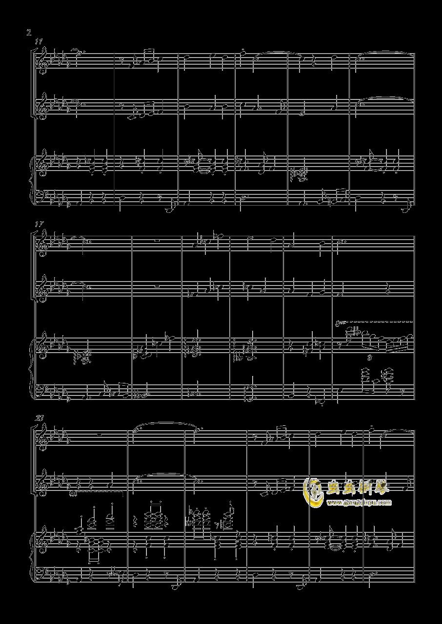 贪笑风声钢琴谱 第2页