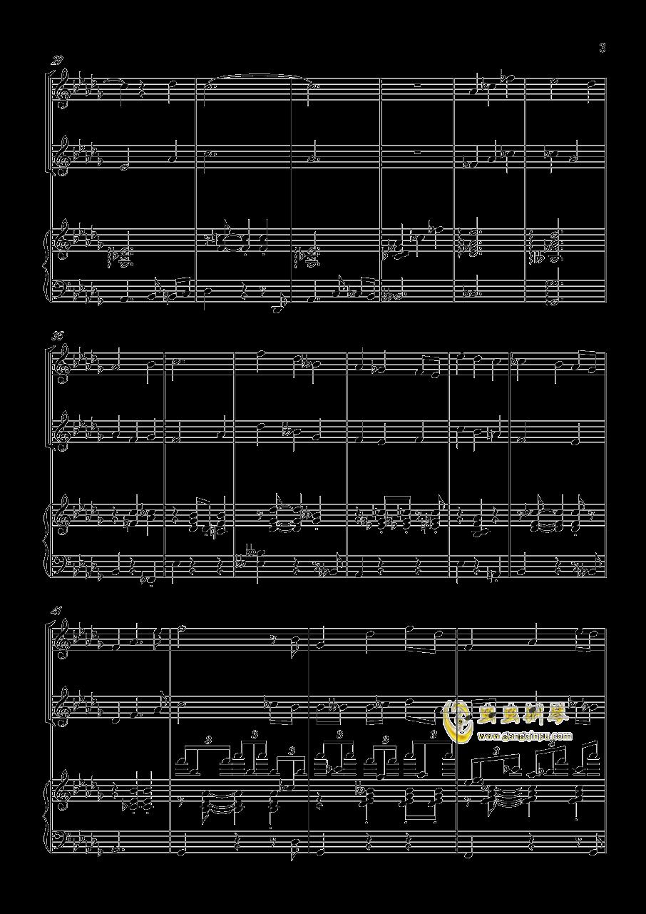 贪笑风声钢琴谱 第3页