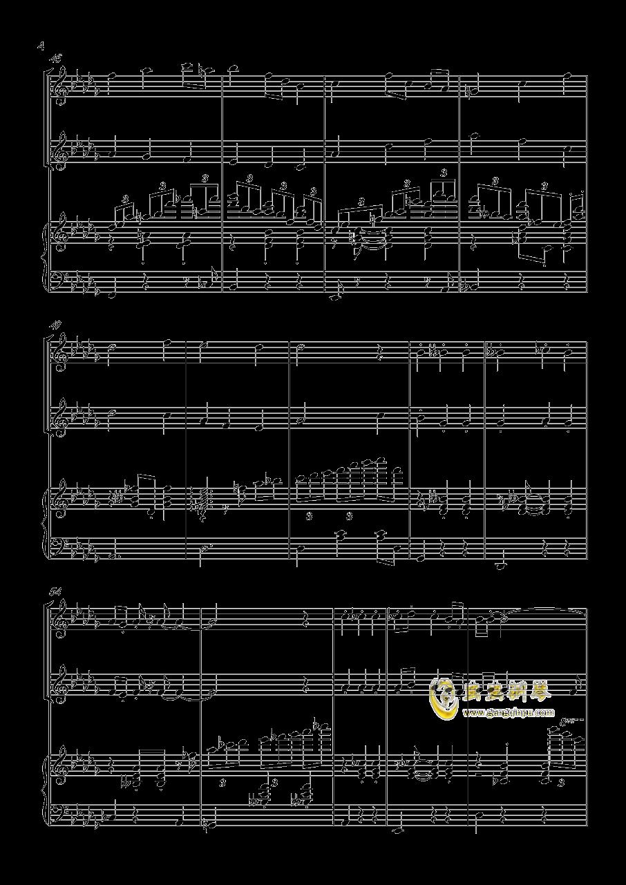 贪笑风声钢琴谱 第4页