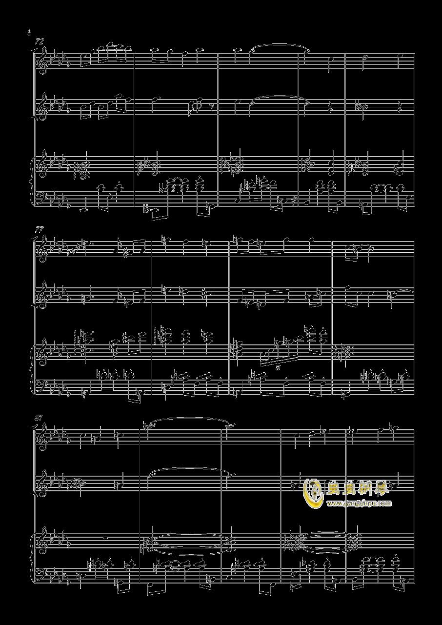 贪笑风声钢琴谱 第6页