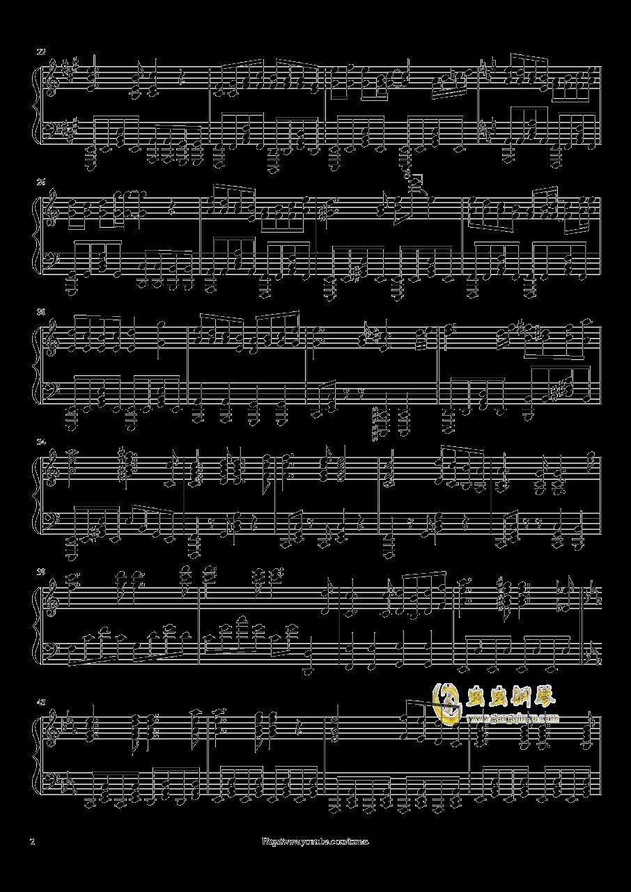 献上心脏吧!钢琴谱 第2页