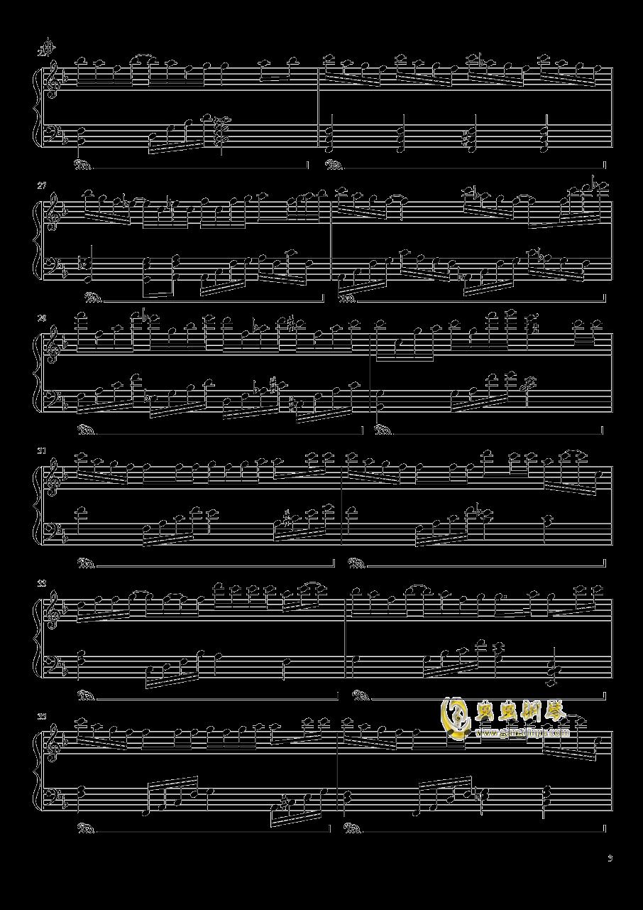 失忆的金鱼钢琴谱 第3页