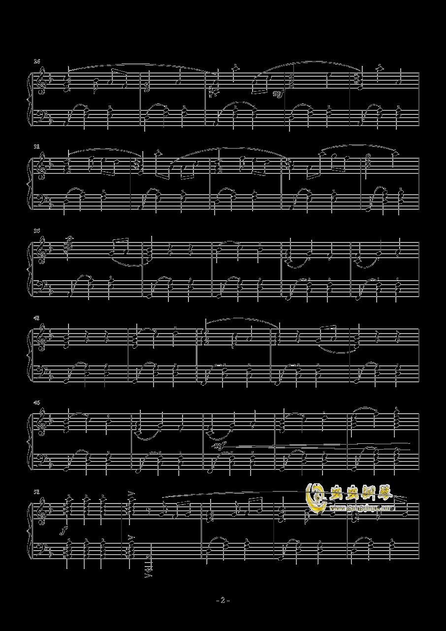 �S想钢琴谱 第2页