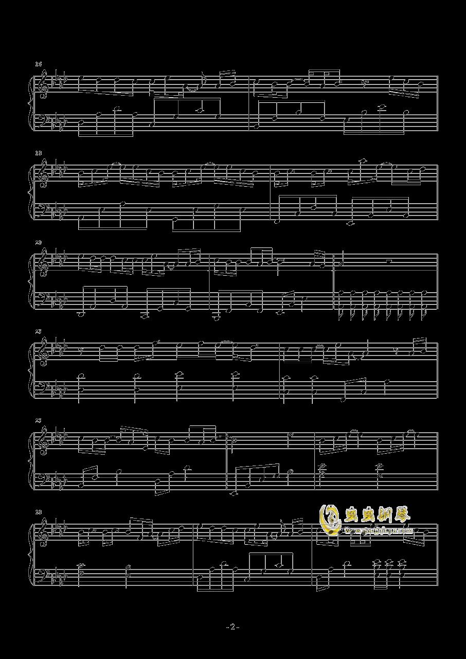 妮妮钢琴谱 第2页