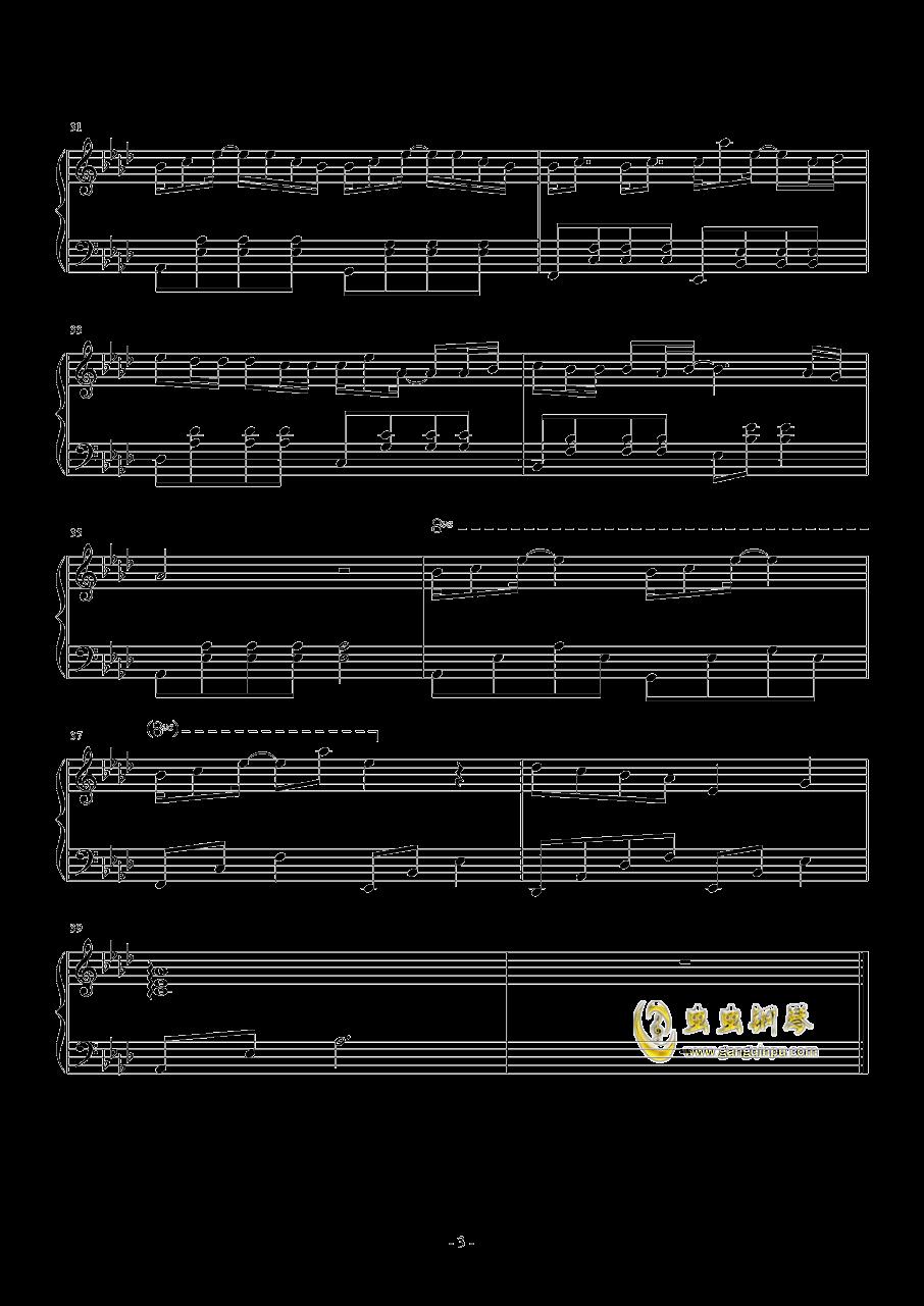 妮妮钢琴谱 第3页