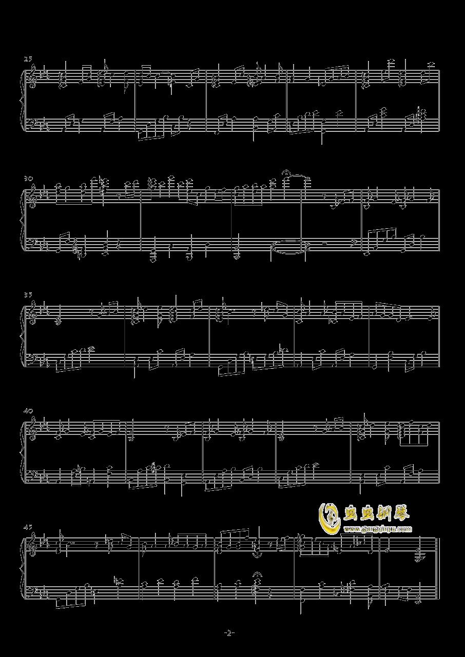 瓶钢琴谱 第2页