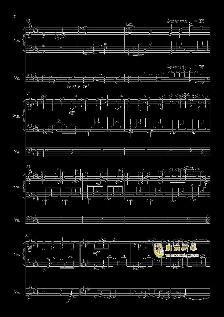 f Wind 大提琴 钢琴二重奏,The Path Of Wind 大提琴 钢琴二重奏钢