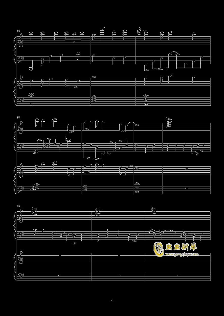 TUESDAY钢琴谱 第4页
