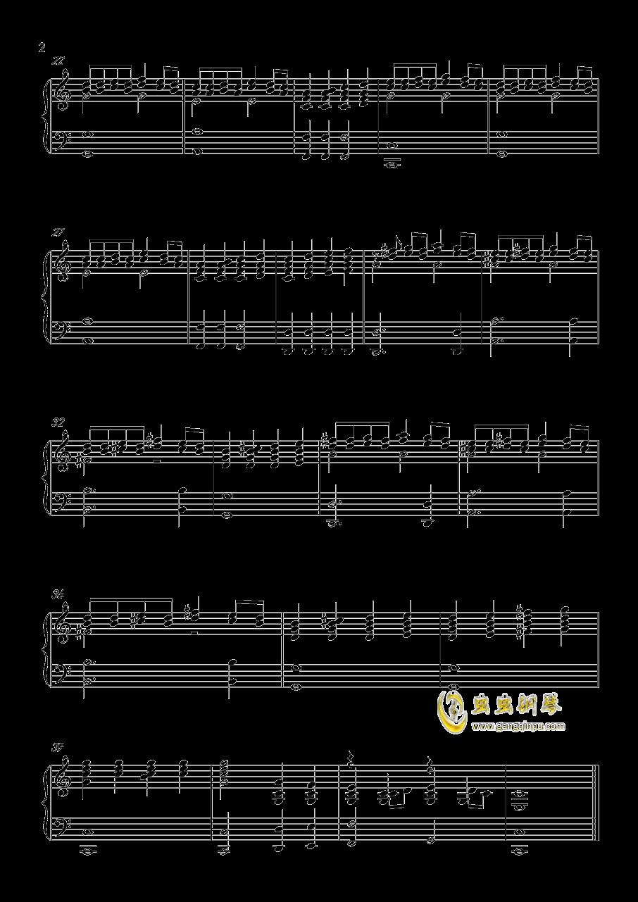 PM钢琴谱 第2页