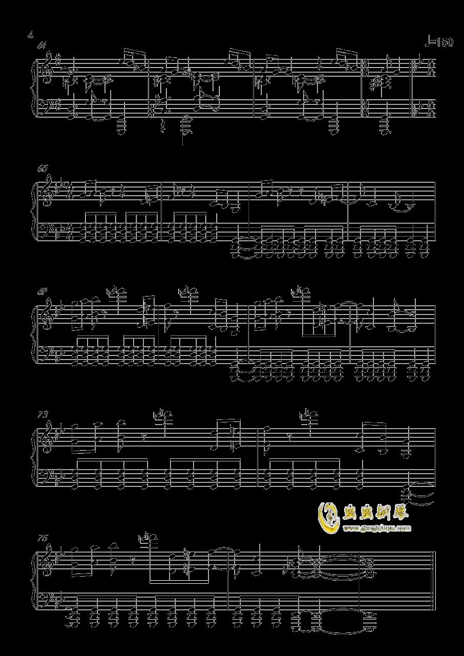 Live And Let Die钢琴谱 第4页