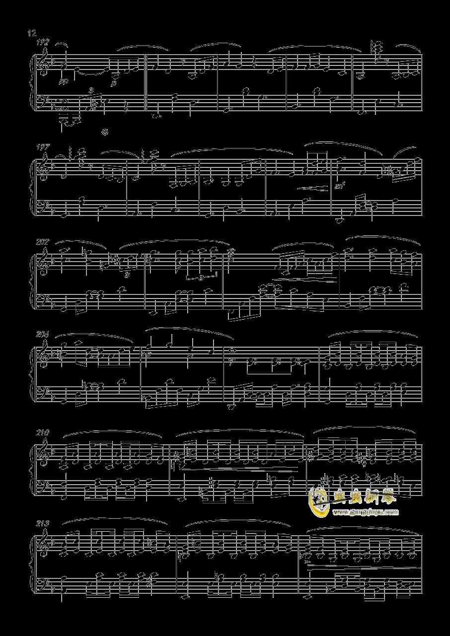 Forest Memories钢琴谱 第12页