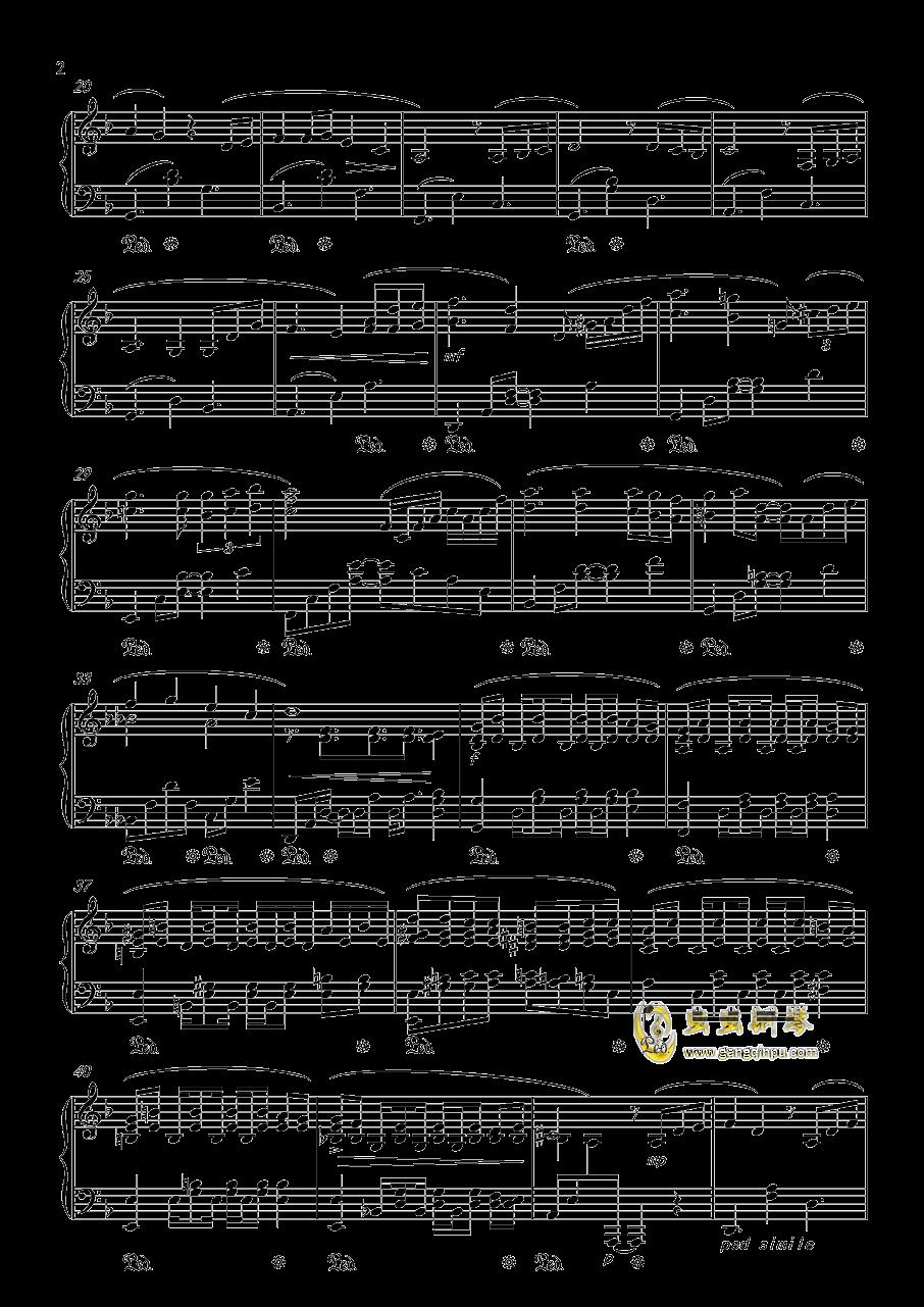 Forest Memories钢琴谱 第2页