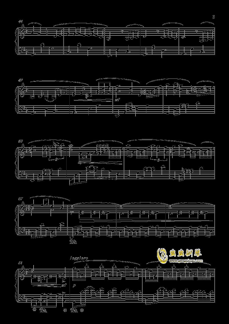 Forest Memories钢琴谱 第3页