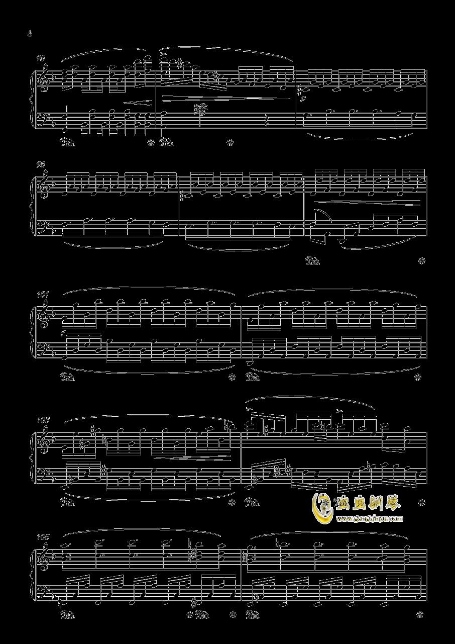 Forest Memories钢琴谱 第6页