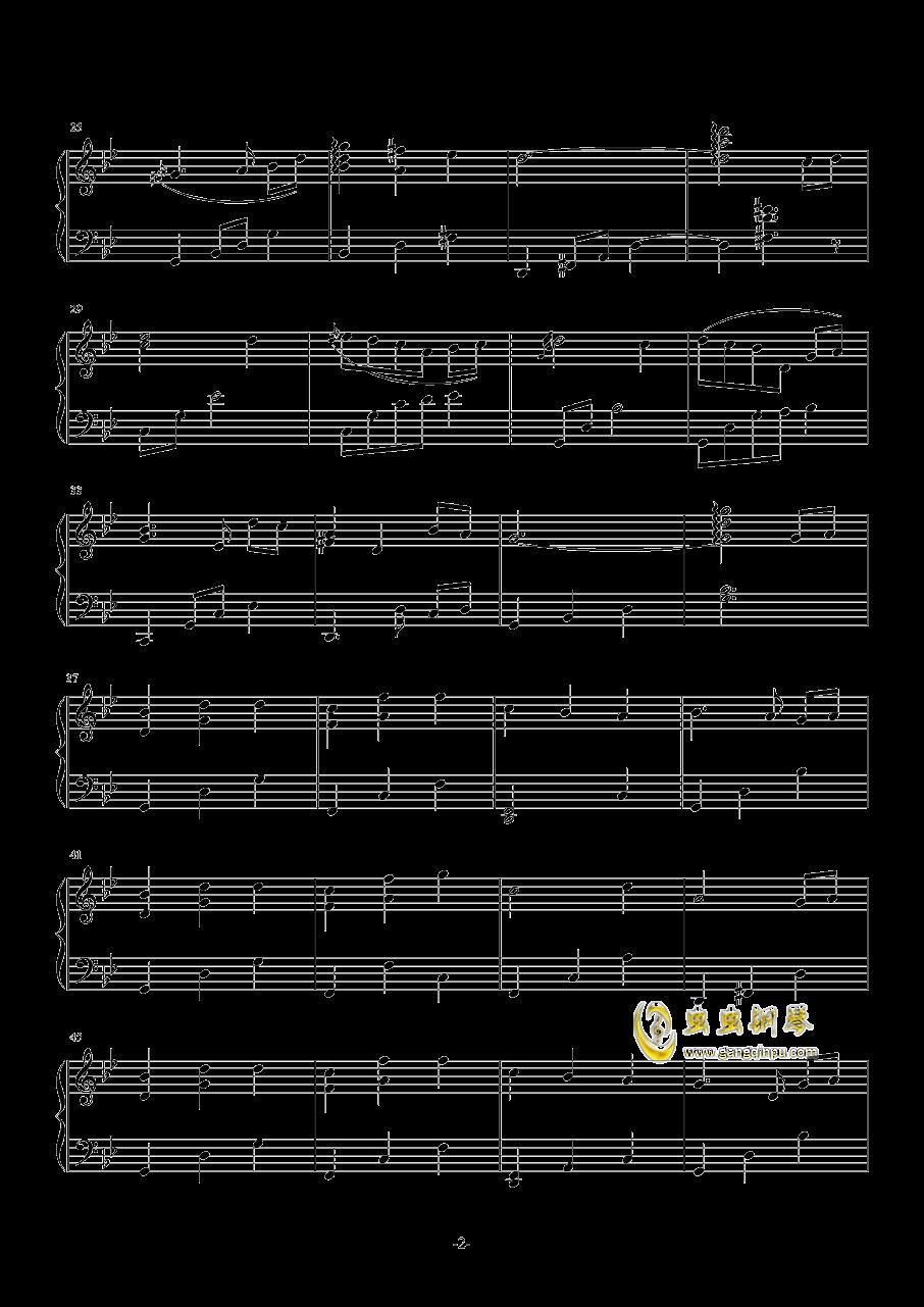 Since Summer钢琴谱 第2页